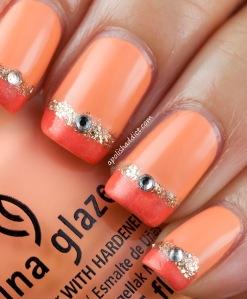 china glaze peachy keen 1