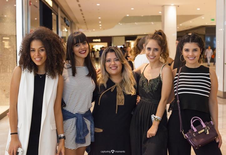 Rayza Nicácio, Thai, eu e as irmãs Alcantara, Julia e Débora, do blog Tudo Orna.