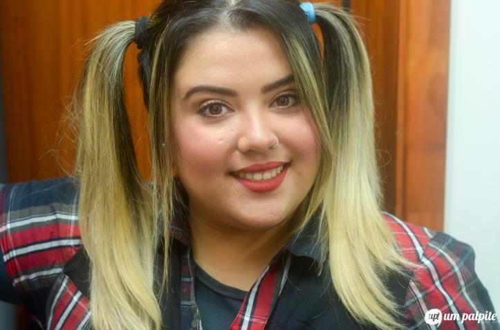 Bruna Scremin maquiagem de festa junina