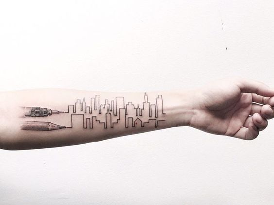 tatuagem arquitetura 2