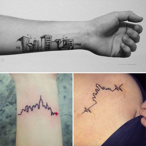tatuagem arquitetura