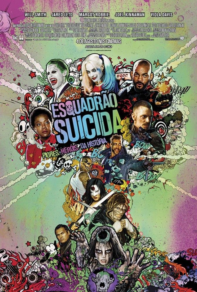 Esquadrão Suicida, é o filme do ano?