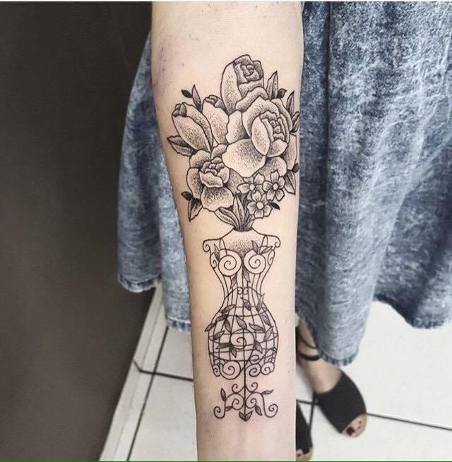 Tatuagens para quem ama MODA